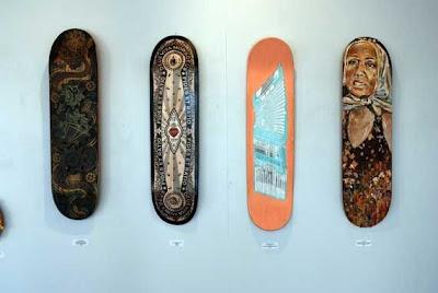 skateboard layouts