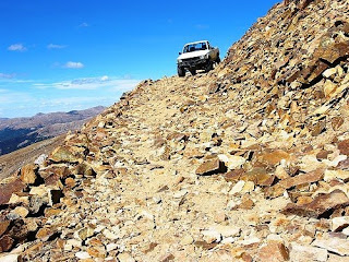 Tuff roads for tuff cars