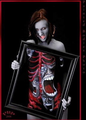 3D Body Painting Pictures