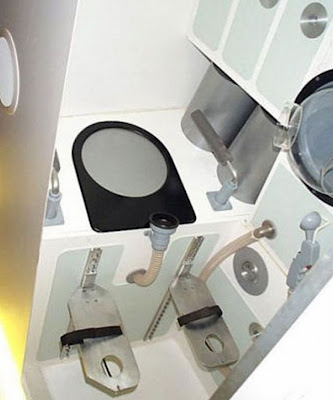 toilet in space