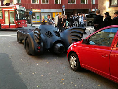 batman car in Sweden
