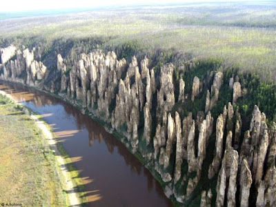 Russia stone forest