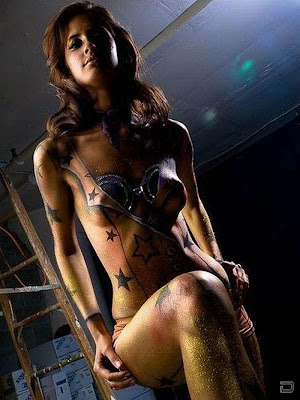 New Body Painting Women