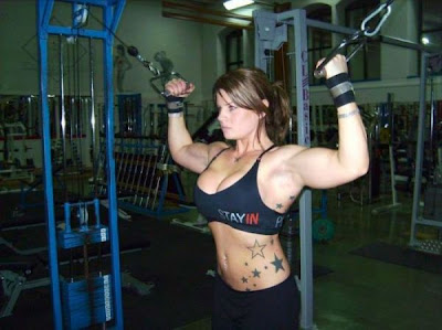 woman and fitness