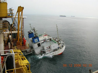 large ship model
