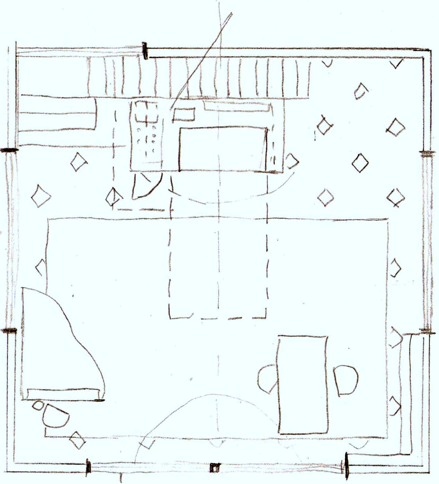 Plan Elevation Perspective : My masterpiece sj a site plan section elevation