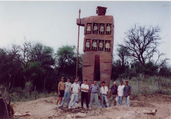 Monumento al Cacique Mariano Rosas