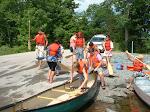 Indian Brook Canoe & Kayaking program