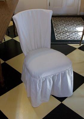 Teresa porter shabby chic slipcovers - Shabby chic dining room chair covers ...