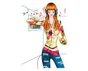 Etiquetas: Dibujos de Chicas, Dibujos de Nivel 2. dibujo chica