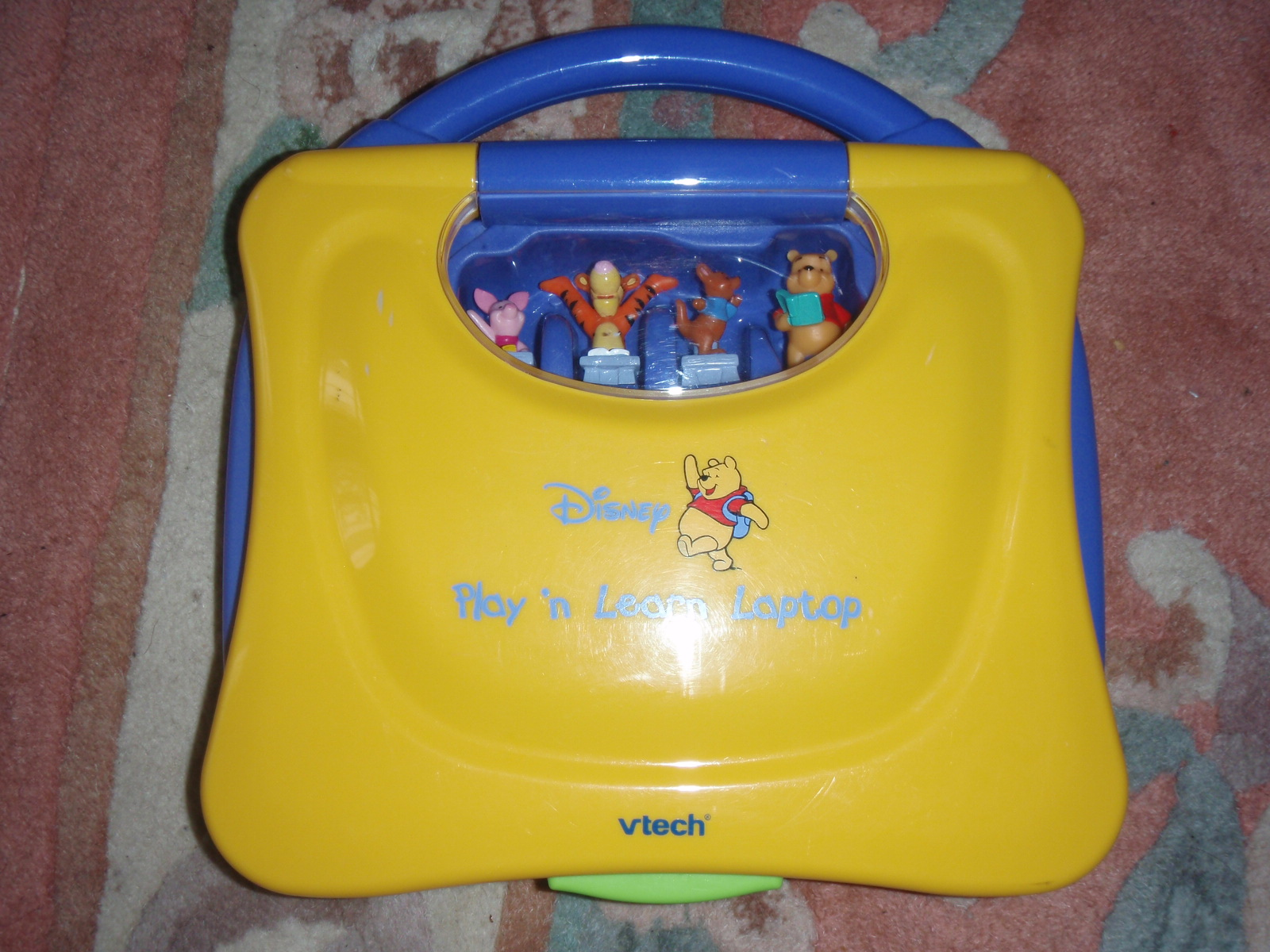 Vtech Winnie the Pooh Press n Play Laptop User Manual