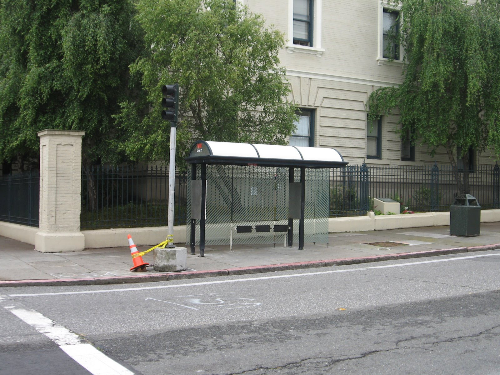 anti-homeless bus stop bench : pics