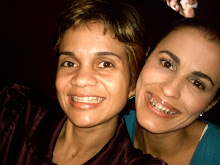 With Fernanda in Maceió eating pizza
