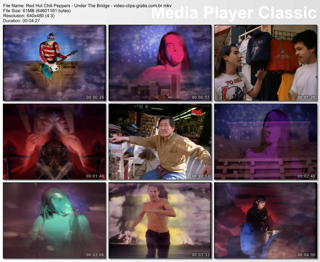 Video Clip - Red Hot Chili Peppers - Under The Bridge