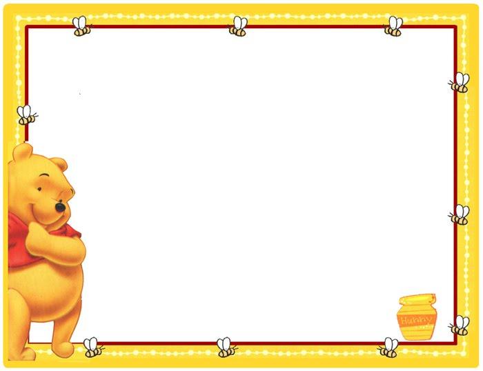 Marcos de fotos de Winnie The Pooh bebé - Imagui