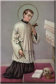 O most glorious Saint Aloysius.