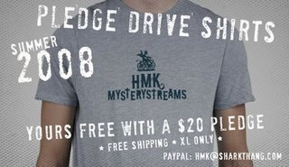 Free HMK Mystery Stream Shirt!