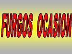 FURGOS  OCASION