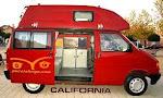 VW CALIFORNIA, 2.4 D TECHO  ALTO  RIGIDO  AÑO 91, 78 CV, WESTFALIA