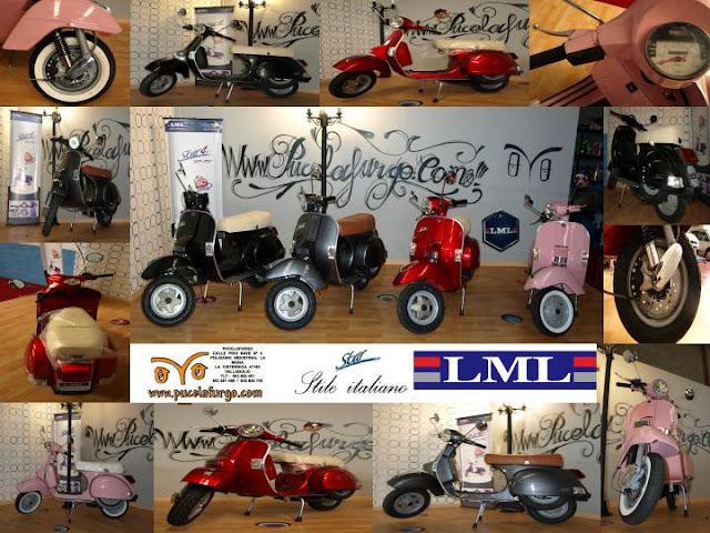 Scooter LML Italia STAR 125 cc 150 c.c. 200 c.c. inyeccion 4 TIEMPOS y 2 TIEMPOS