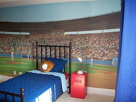 Boy Bedroom Design With Soccer ThemeHOME DESIGNS