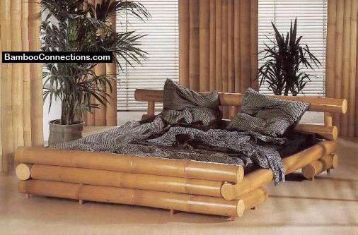 Bamboo Living Room Furniture Set With Cushion 12 Image