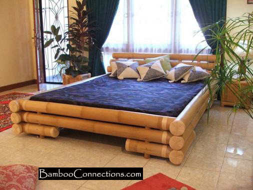 Design bamboo bad roomhome designs for Bedroom bad design