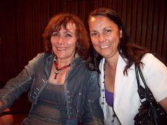 Dra Graciela Gomez con Marie Monique Robin