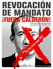  FUERA CALDERON !!!