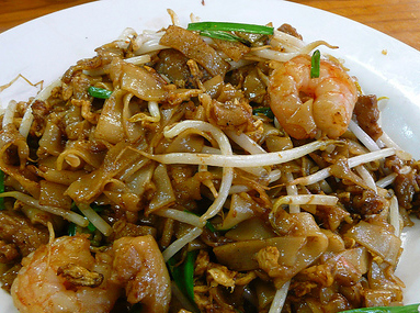 My Recipes: FRIED KWAY TEOW ( FLAT NOODLES )