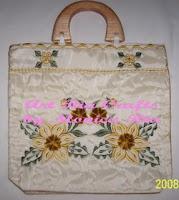 Gold Embroidery Handbag