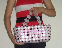 Big Babol Handbag by Monica Ria