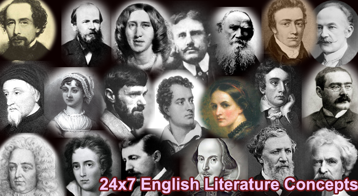 24x7 English Literature Concepts