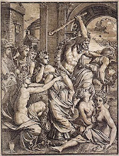 Hercules Chasing Avarice from the Temple of the Muses