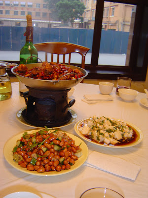 a sichuan food meal