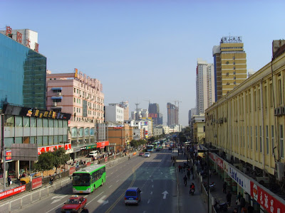 Hefei city scene