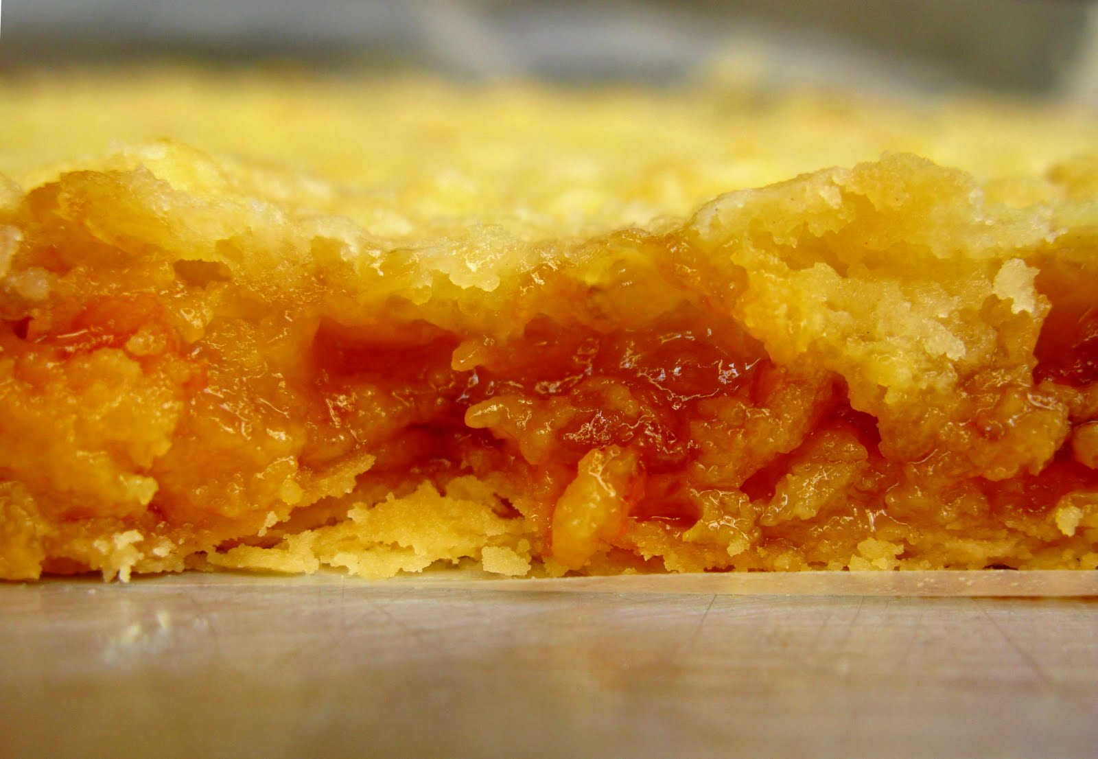 Sink your teeth… Into some Apricot Cream Cheese Streusel Bars!