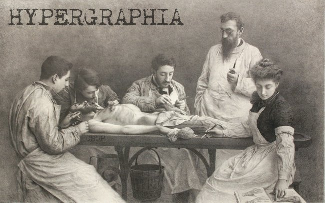 HYPERGRAPHIA