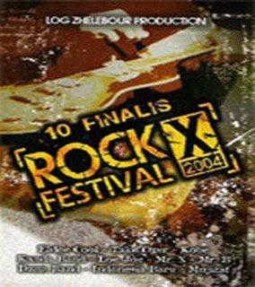 Para juara Djarum Super Festival Rock Indonesia ke-X di Stadion