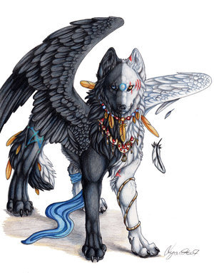Weightless (Winged Wolf RP - Accepting) Winged_Twilight_by_Lyanti