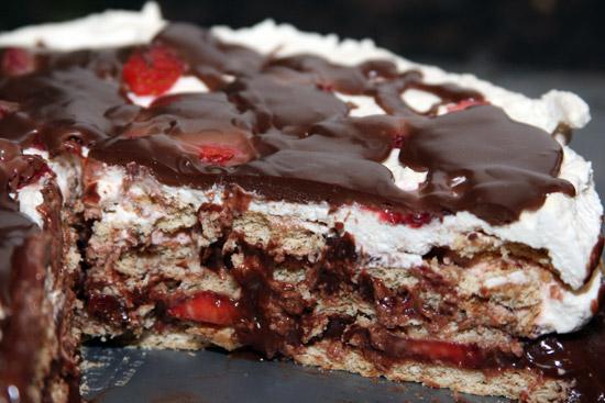 WHISK AWAY: Strawberry Chocolate Icebox Cake