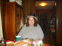 Becky at dinner