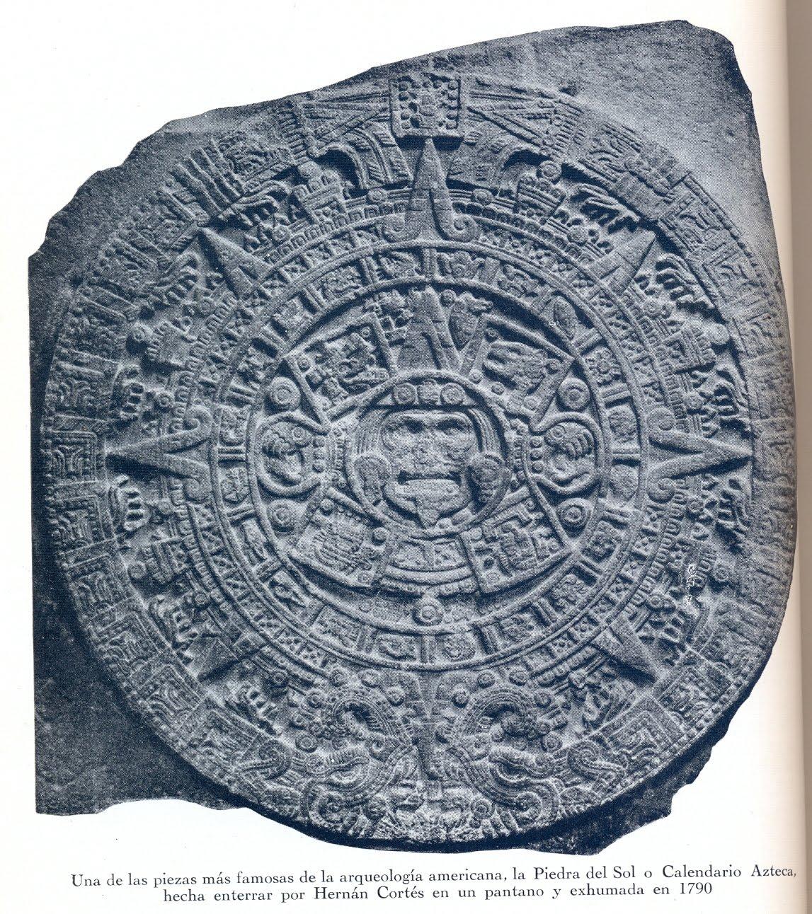 Quantulumcumque el calendario azteca for Del sol horario