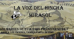 La voz del hincha Mirasol