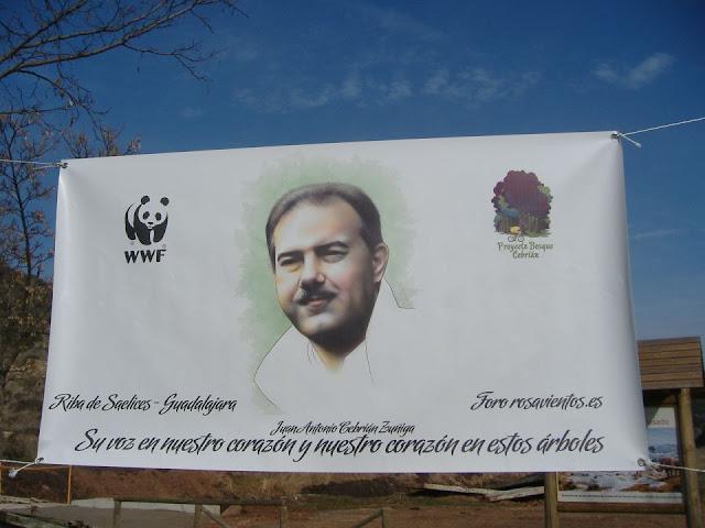Pancarta Conmemorativa de El bosque de Cebrian