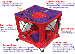PopATot-Baby-Activity-Center-Folding-Portable-Collapses ...