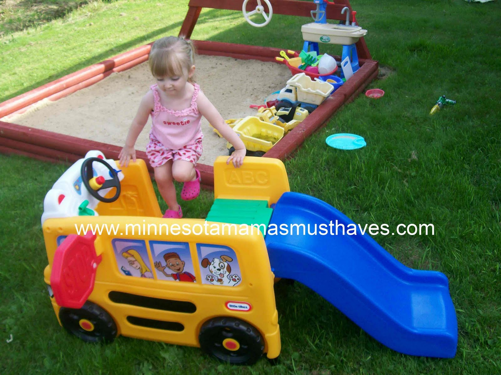 Little Tikes School Bus Activity Gym Review U0026 Giveaway!   Must Have Mom