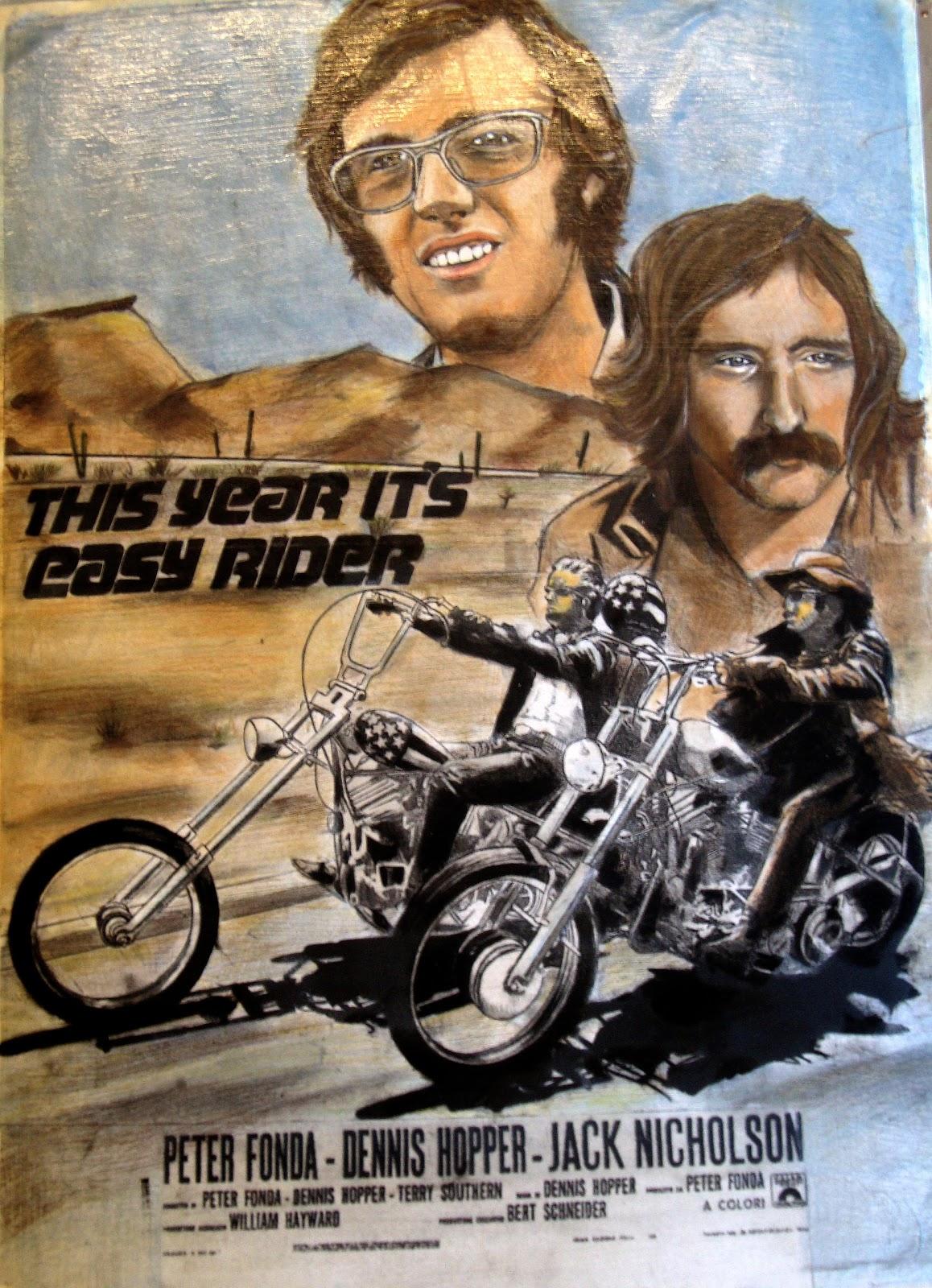 easy rider movie poster Easy Rider Movie Poster