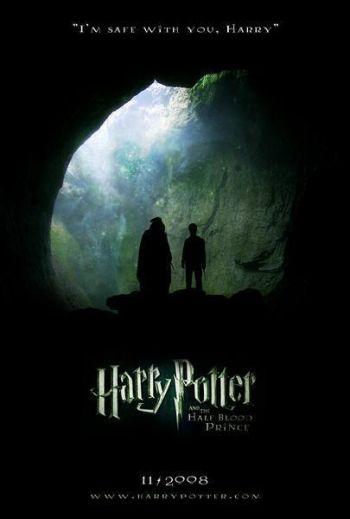 Saga Harry Potter Tome 6 : Harry Potter et le Prince de sang mêlé  Harry-potter-and-the-half-blood-prince