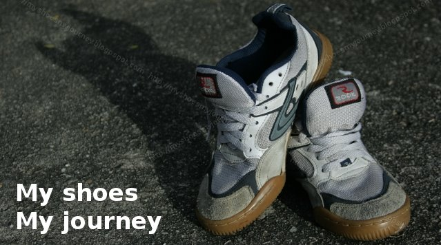 my shoes, my journey